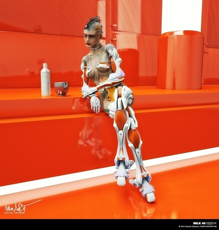 Milk 45 Posed composed DAZ3D St - nenart | ello
