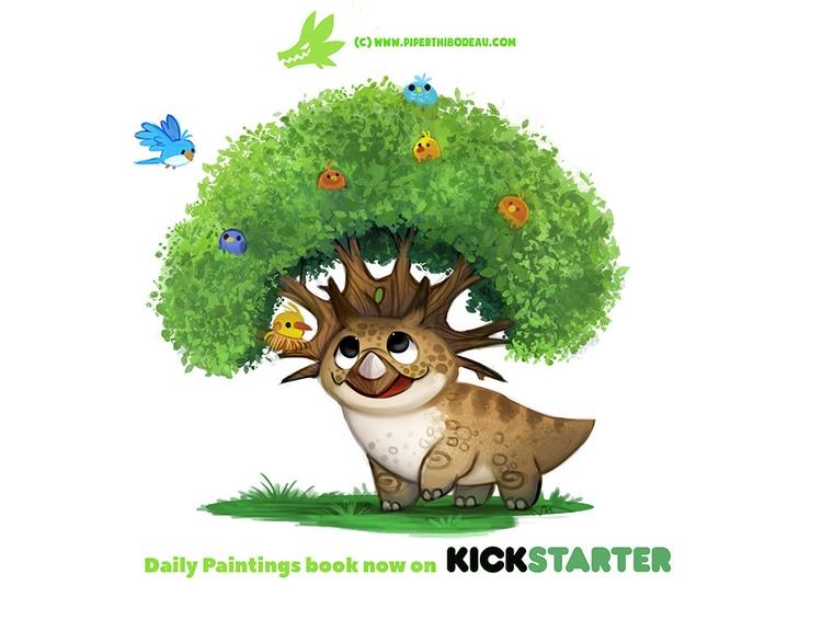Daily 1314. Treeceratops - piperthibodeau   ello