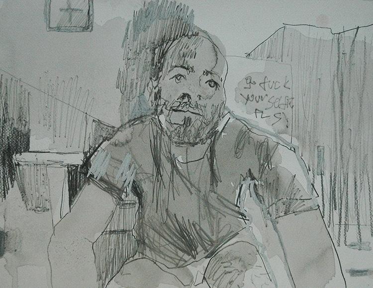 ,,Web cam selfie 2.''; mixed me - ivanmitic | ello