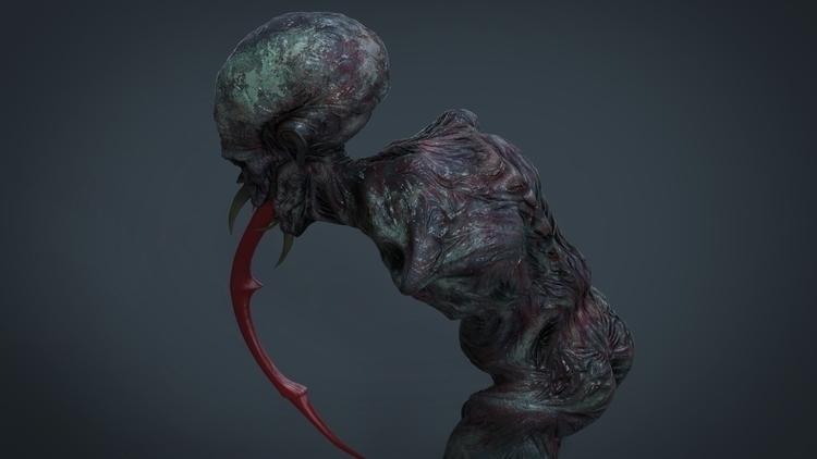 Syphon (Creature 3D - creaturedesign - kimkiao | ello