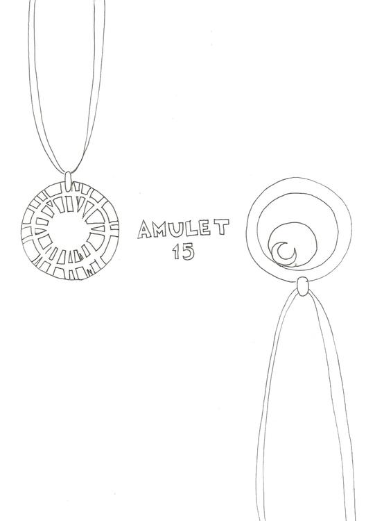 Lineart 15 Amulet - illustration - hotshots2000 | ello