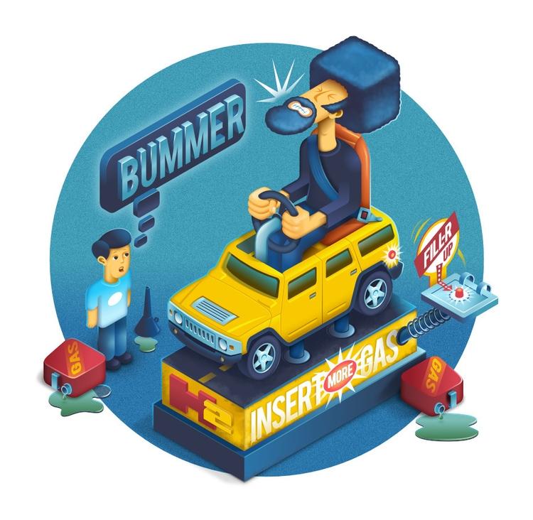 Bummer - affinitydesigner, 2dillustration - kevinh-6431 | ello