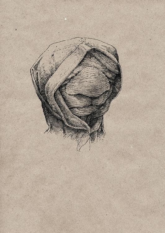 Face 2 - art, illustration, drawing - aleksklepnev   ello