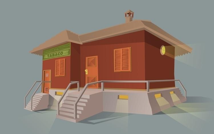 illustration, house, illustrator - farsa | ello