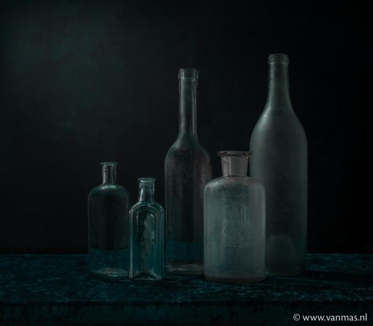 Stilleven met groen glas - photography - vanmas | ello
