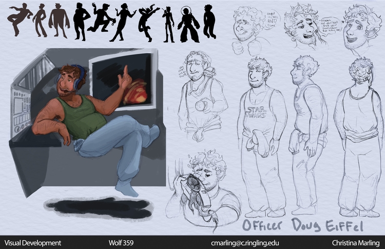 Officer Doug Eiffel Character S - cmarling | ello