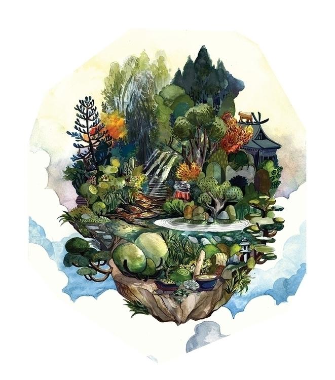 Forests Garden Island - malisasuchanya - lisabanana | ello