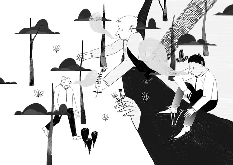 ~ - illustration, surreal, narrative - tom-1220 | ello