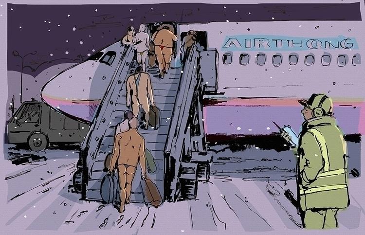 Airthong - illustration, drawing - elaramari   ello
