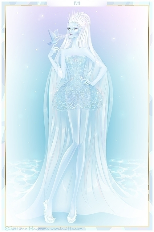 Ice Queen - fashionillustration - svetlanamakarova | ello