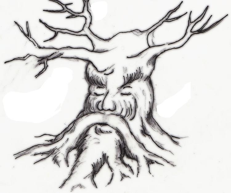 Sleeping oak - #critter - cheechwiz | ello