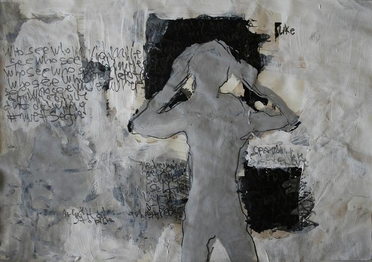 ,,Selfovanje 46.''; mixed media - ivanmitic | ello