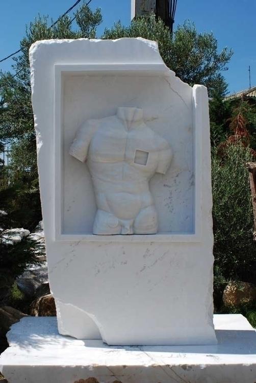sculpture, marble - andrejmitevski | ello