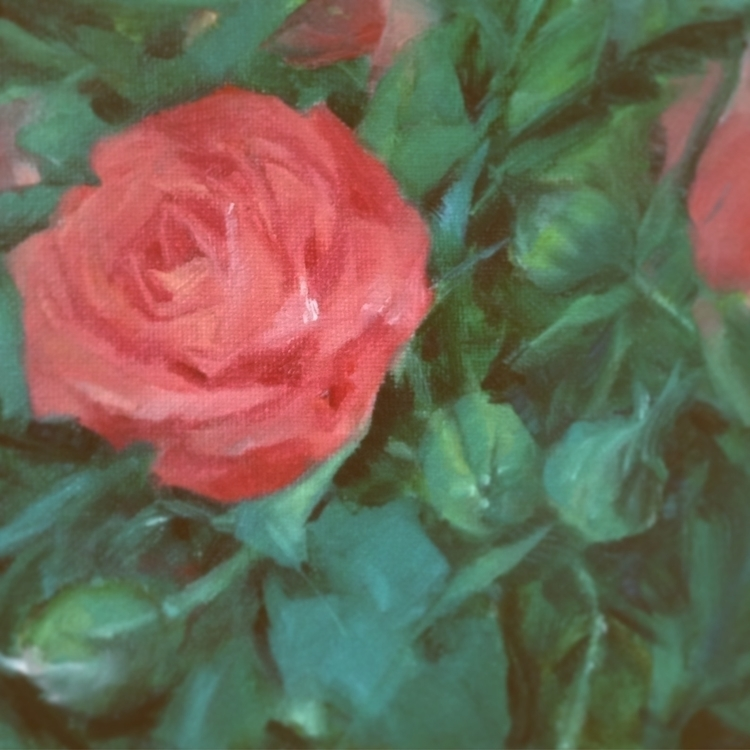 Flower study - oilpainting - doantrang-7240 | ello