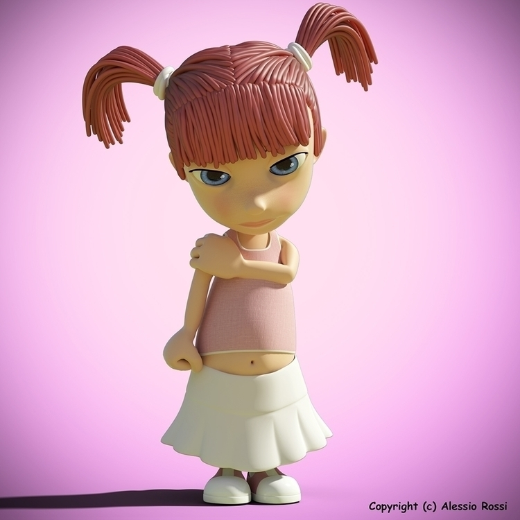 animation, 3danimation, characterdesign - aler3ds | ello