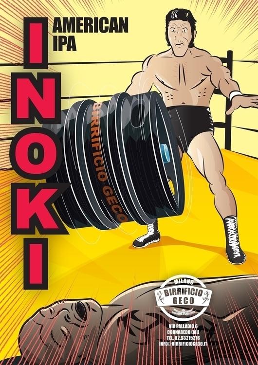 INOKI - antonio, inoki, illustration - sergitocaruso | ello