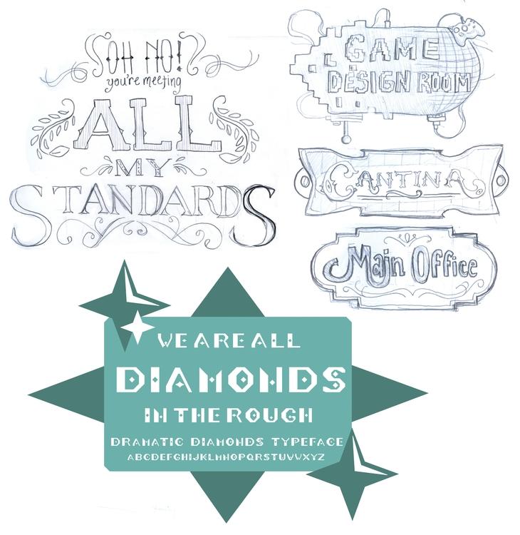 miscellaneous typography sketch - cmarling | ello