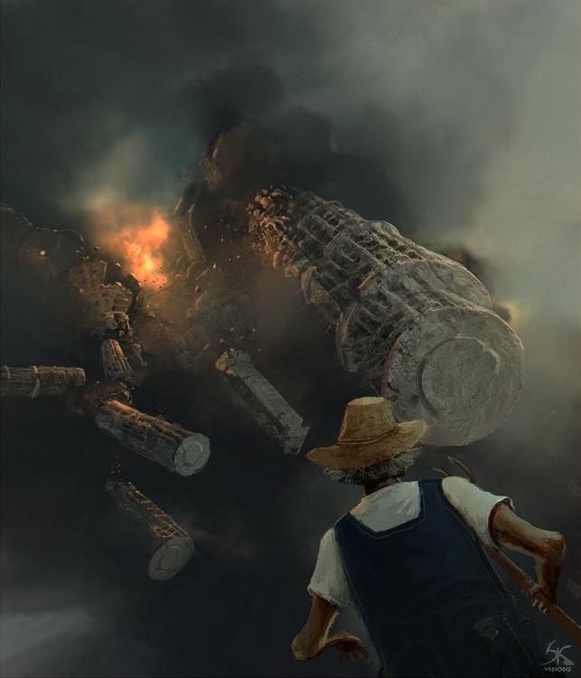 Title: ' Fallen World Alien wor - sanskarans | ello