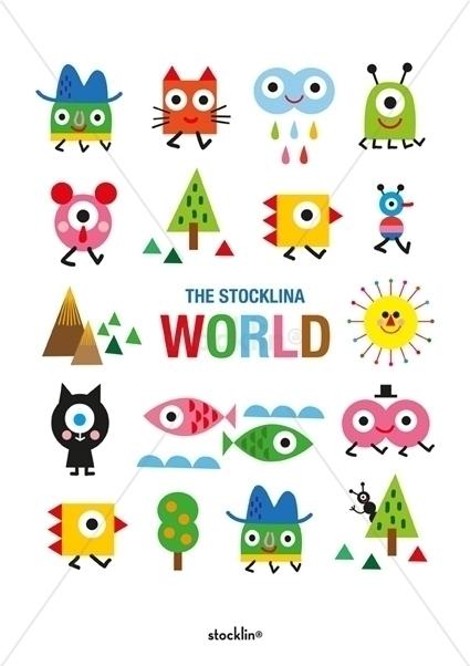 Decorative print - kids, design - stocklina-1295 | ello