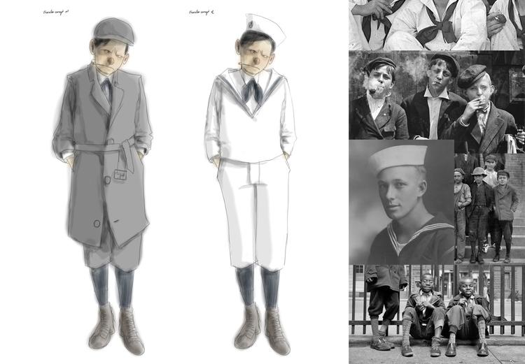 Pinocchio Character Concept - characterdesign - kevinhamon | ello