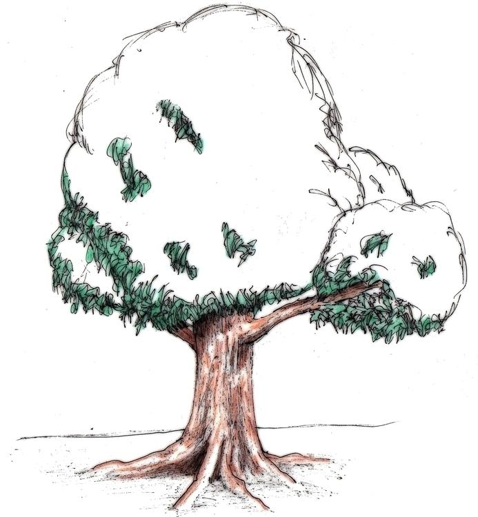 Trees - illustration - cheechwiz | ello