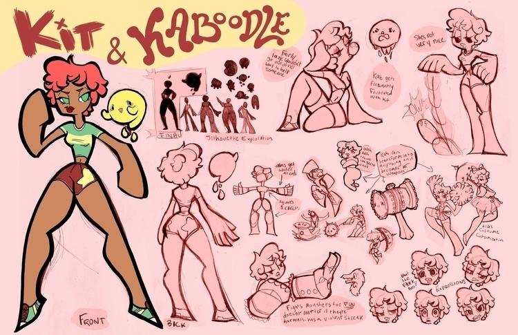 Kit Kaboodle Character design e - cmarling | ello