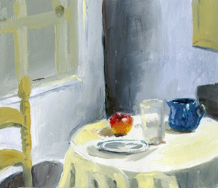 small Interior painting study o - cmarling | ello