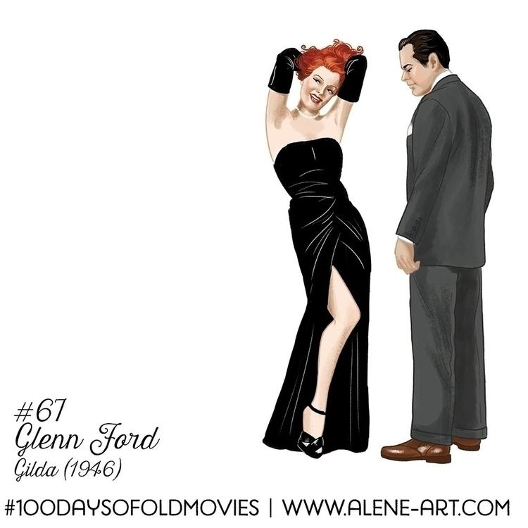 100 Days Movies: 66 67 Gilda (1 - aleneart | ello