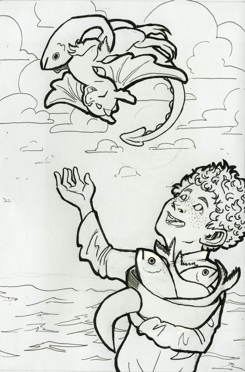 Inked illustration childrens bo - cmarling | ello
