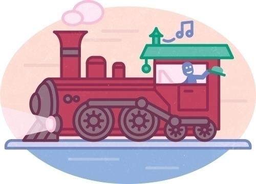 journey Olaf - illustration, icon - szokekissmarton-5412 | ello