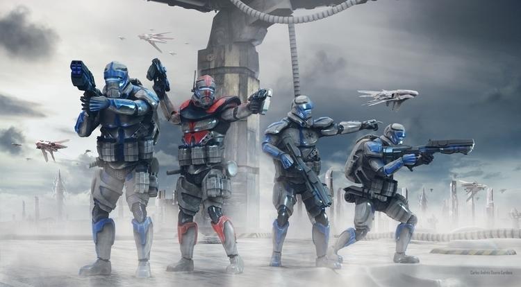 Clone Troopers Commandos Redesi - carlososorio | ello