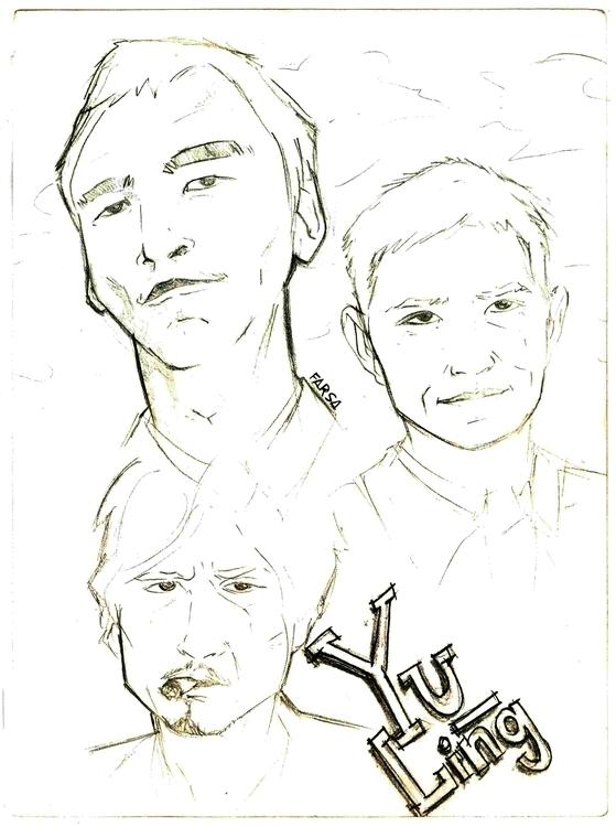 illustration, drawing, sketch - farsa   ello