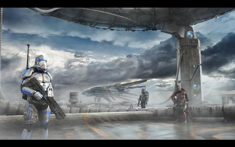 Sci-Fi enviroment characters de - carlososorio | ello