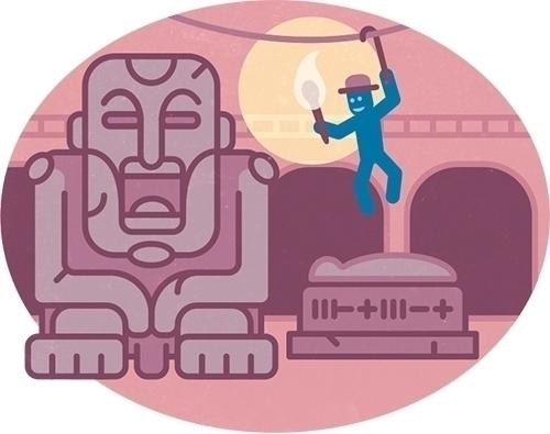 Olaf tomb raider - illustration - szokekissmarton-5412   ello