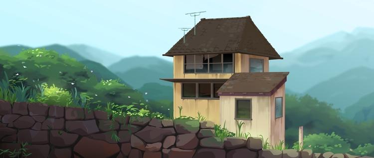 Wall, House, Japan - background - alexmiller-6727 | ello