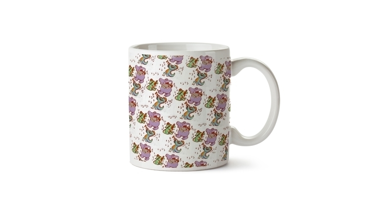 Jammin animals cup - digitalart - vshek | ello
