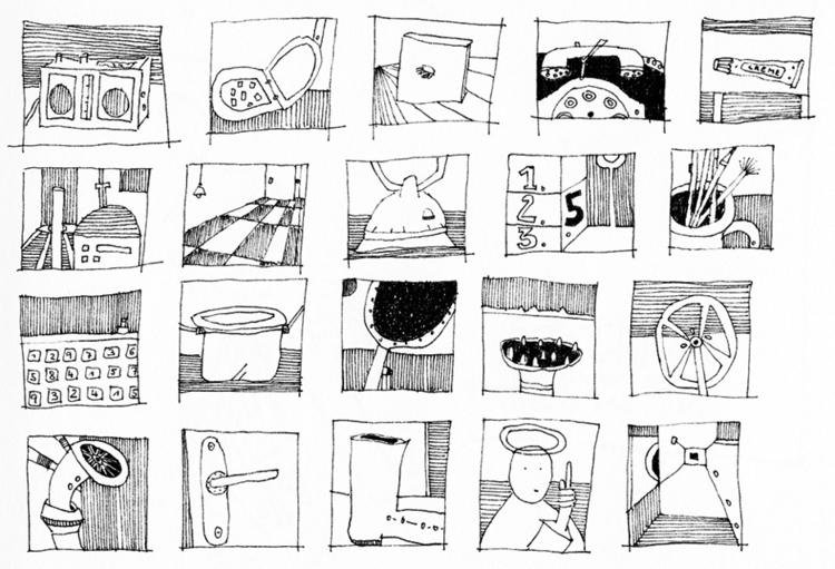 illustration, blackandwhite, stuff - tychonikum | ello