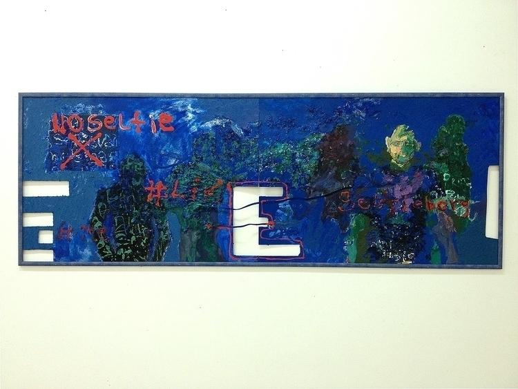 painting, mixedmedia, oil, acrylic - ivanmitic | ello