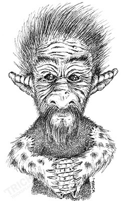 Fancy Troll - fancytroll, lineart - trick-6303 | ello