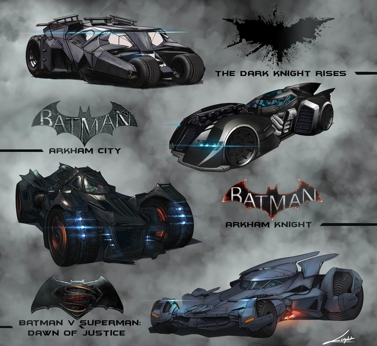 batmobile sketch - illustration - vuongnguyen | ello