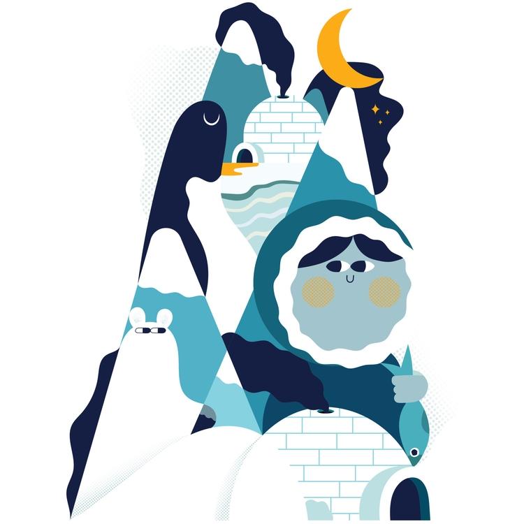 Artico. Personal illustration - fonzynils - fonzynils-1431 | ello