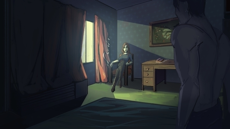 Motel - visualdevelopment, characterdesign - martinellie | ello