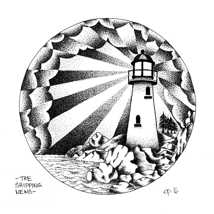 Lighthouse (inspired Shipping N - ellenparzer | ello