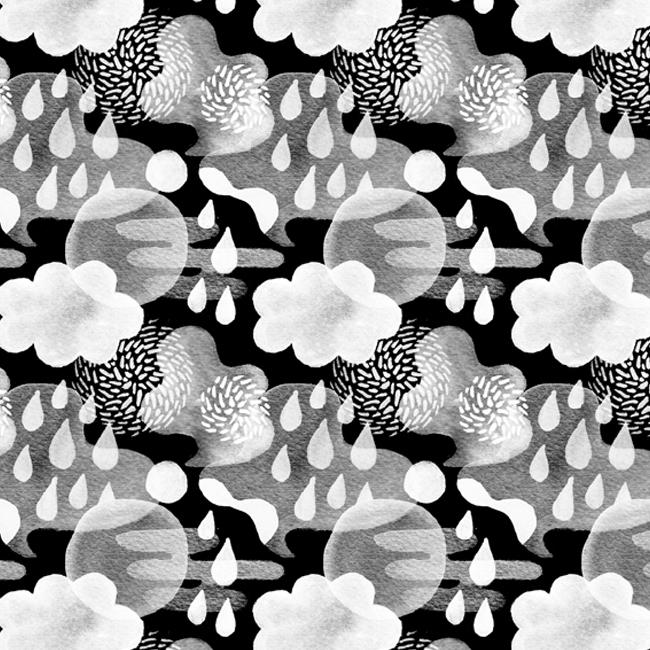 pattern, patterndesign, clouds - stephaniekubo-8873 | ello