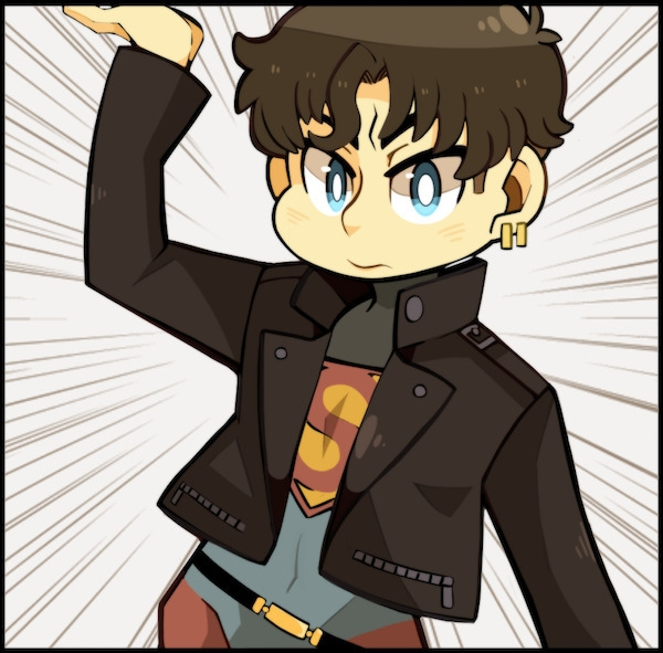 super boy <3 - dccomics, superboy - heavywoodenbox | ello