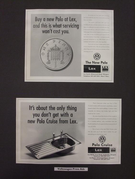 VW Dealership Advert - advertisement - stevenhart | ello