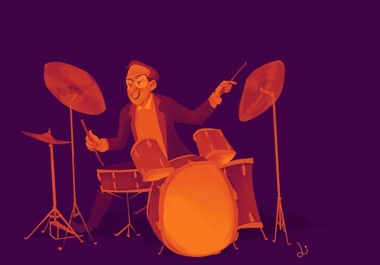 stepfather: jazz drummer player - liviaconstante | ello