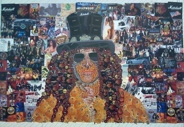 Slash Collaged Portrait, Create - stevenhart | ello