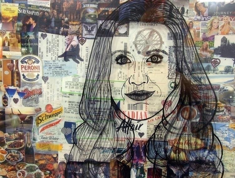 Life. Detailed Portrait Created - stevenhart | ello