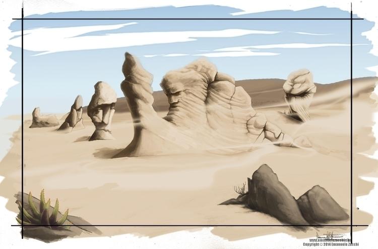 Establishing Shot - illustration - ez-1266 | ello